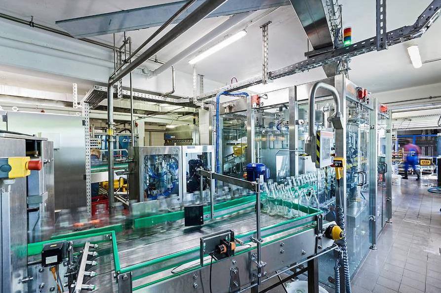 Elektro Uhlemayr: FZ Getränke, Roßhaupten (Abfüllanlage)